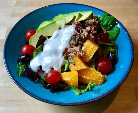 Päivän salaatti: Tonnikala-avocado-salaatti