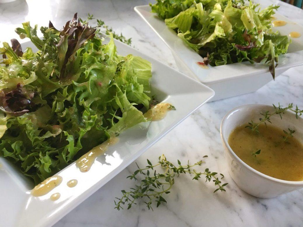 Salaatti keossa