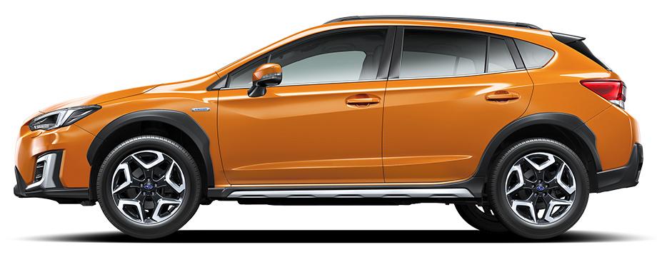 スバルXVサンシャインオレンジ画像