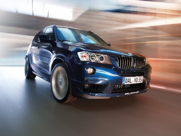 2018 Alpina XD3 Performance Diesel SUV Prototype