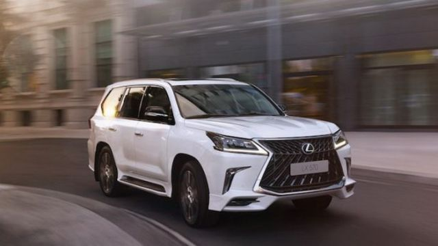 2018 Lexus LX 570 Superior Leaked Images - 2019 and 2020 New SUV Models