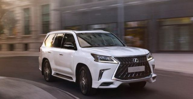 Lexus Lx Superior Front on 2017 Lexus Lx Redesign