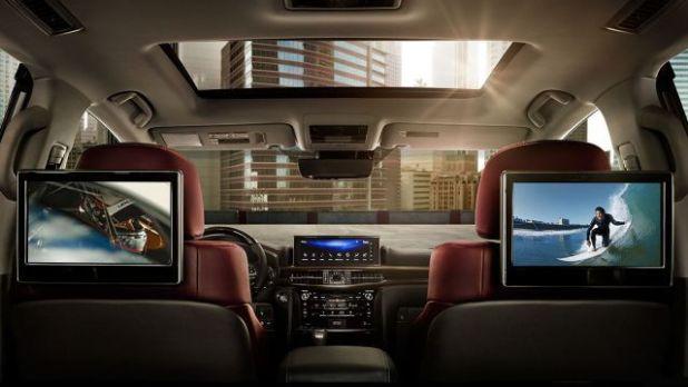 2018 Lexus LX 570 Superior interior