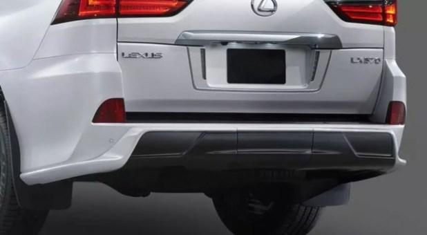2018 Lexus LX 570 Superior rear view