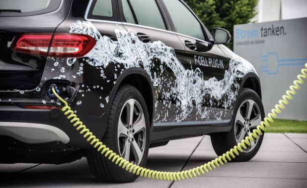 2018 Mercedes-Benz GLC F-Cell rear