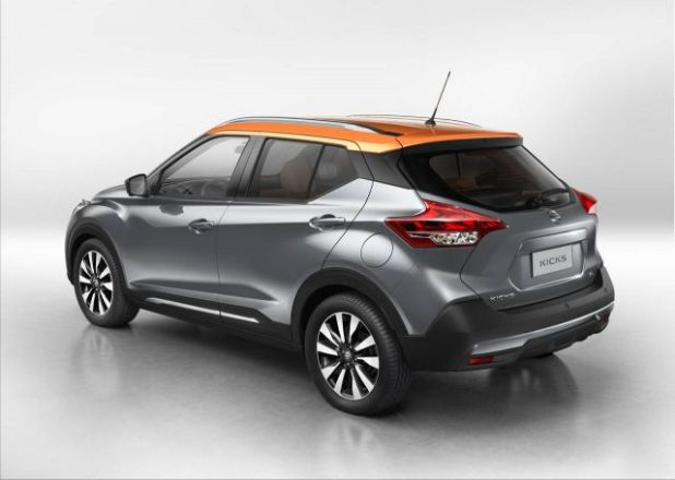 2018 Nissan Kicks rear
