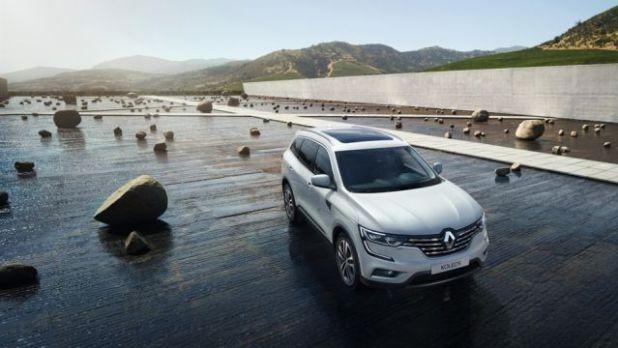 2018 Renault Koleos front