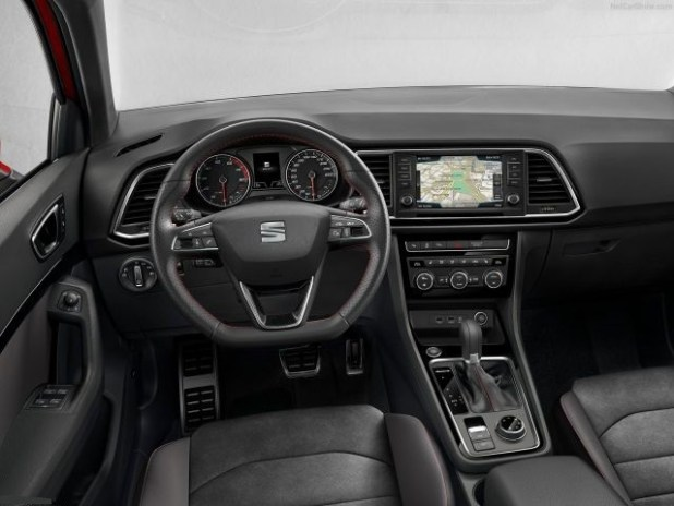 2018 Seat Ateca interior view