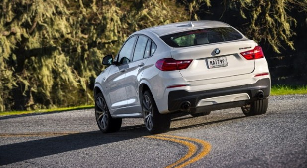2019 BMW X4 rear view