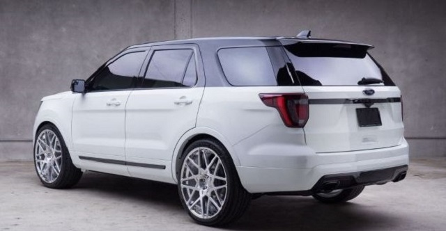 ford explorer rear view     suv models
