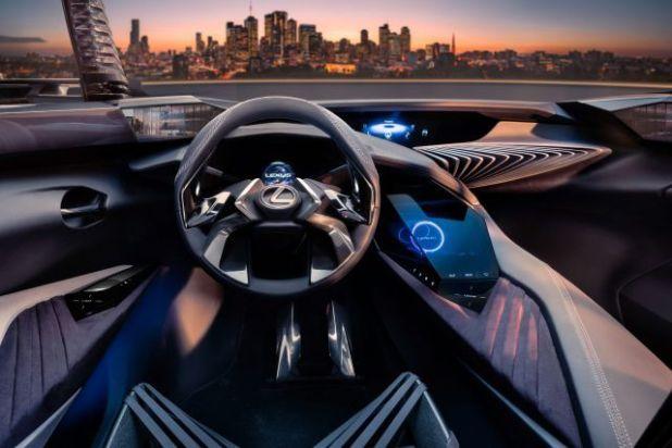 2019 Lexus UX interior
