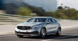 2019 Mercedes-Benz GLA front
