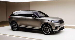 2019 Range Rover Velar SVR front