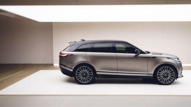 2019 Range Rover Velar SVR side