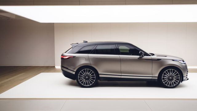2019 Range Rover Velar SVR side - 2019 and 2020 New SUV Models