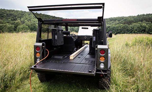 Bollinger B1 rear view