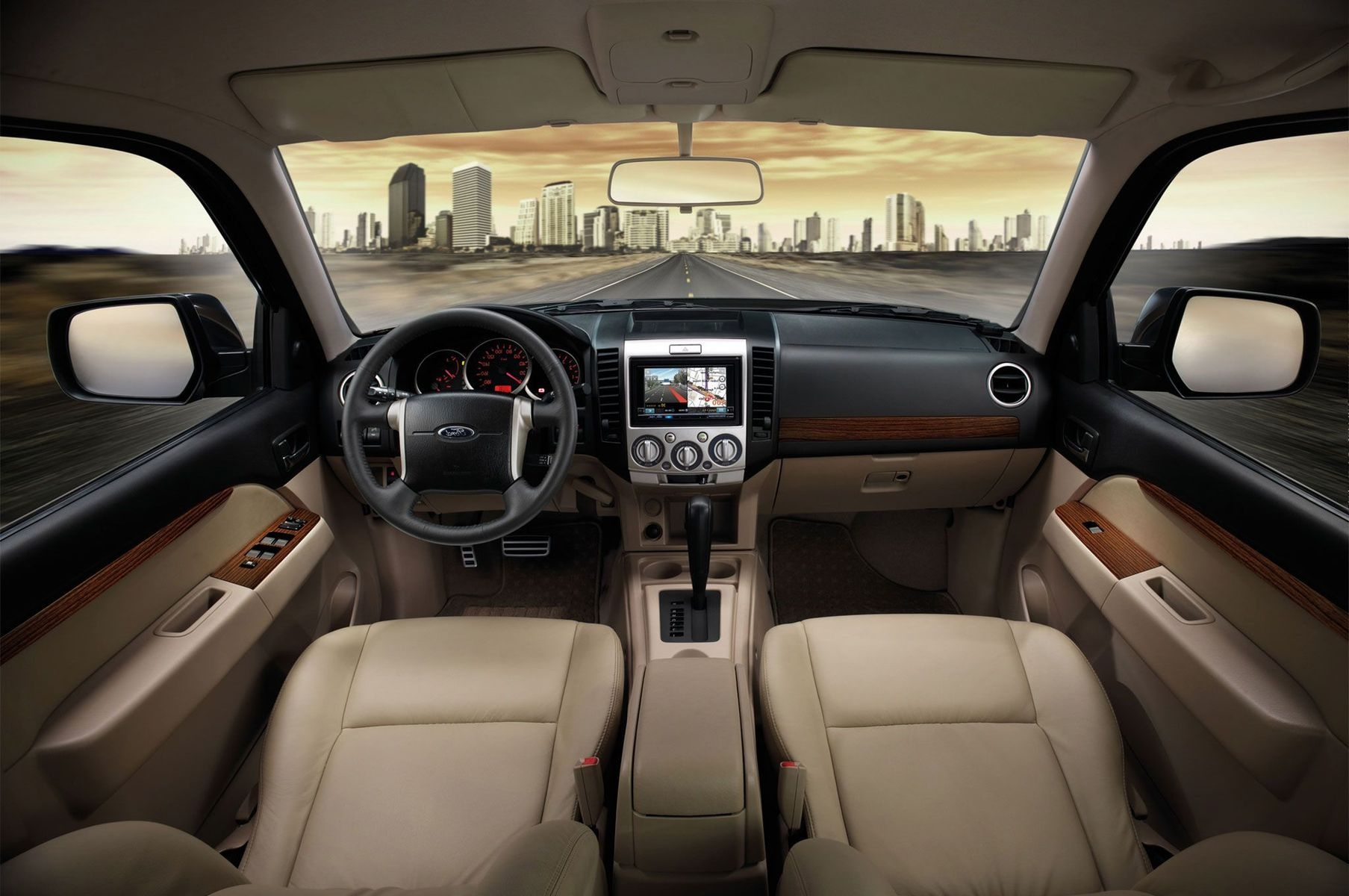 2018 Ford Everest interior - 2020, 2021 and 2022 New SUV Models