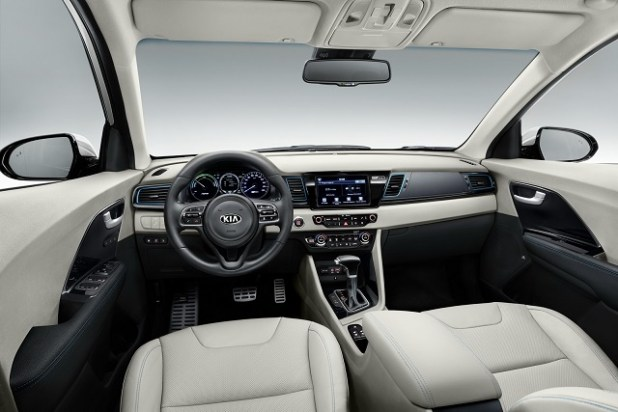 2018 Kia Niro Plug-In Hybrid interior