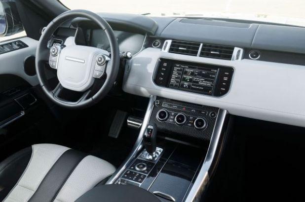 2018 Land Rover Range Rover Sport SVR interior