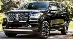 2018 Lincoln Navigator Black Label front
