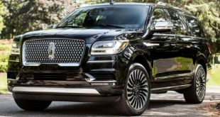 2018 Lincoln Navigator Black Label front