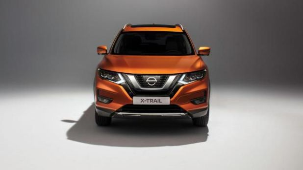 2018 Nissan X-Trail front view