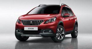 2018 Peugeot 2008 front