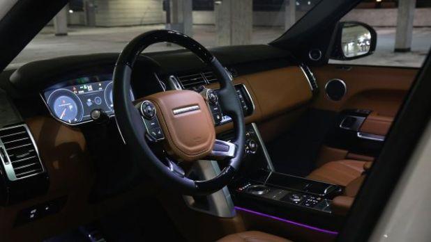 2018 Range Rover Vogue interior