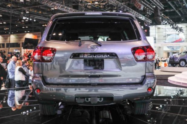 2018 Toyota Sequoia TRD Sport rear