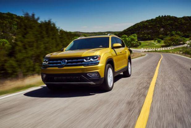 2018 Volkswagen Atlas front