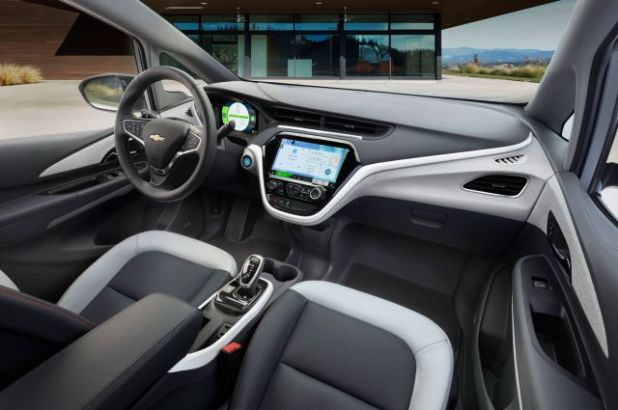 2019 Chevy Bolt Electric SUV interior