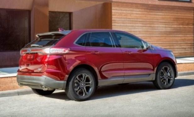 2019 Ford Edge rear view