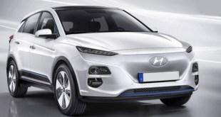 2019 Hyundai Kona Electric SUV front