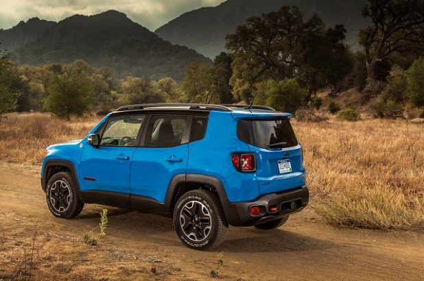 2019 Jeep Renegade rear view
