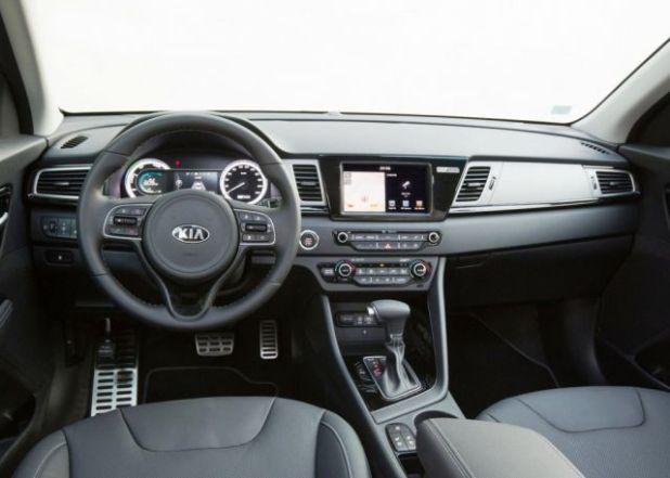 2019 Kia Niro ALL Electric SUV interior