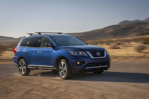 2019 Nissan Pathfinder side
