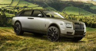 2019 Rolls Royce Cullinan front