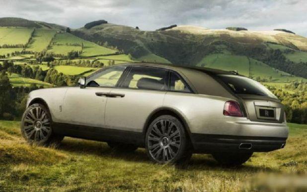 2019 Rolls Royce Cullinan rear