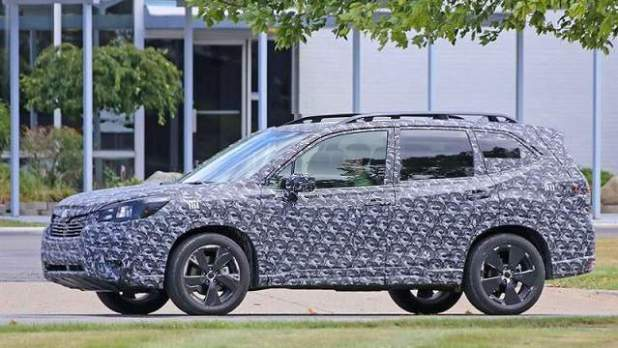 2019 Subaru Forester Spy Photo 1