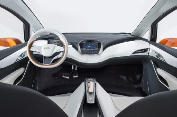 2018 Chevy Bolt Electric SUV interior