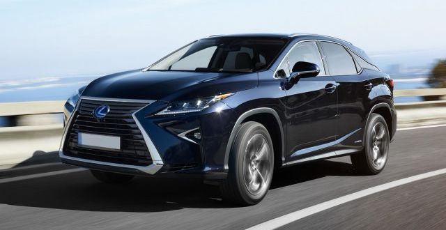Lexus 7 Seater Suv >> 2018 Lexus RX 450h Hybrid, AWD - 2019 and 2020 New SUV Models