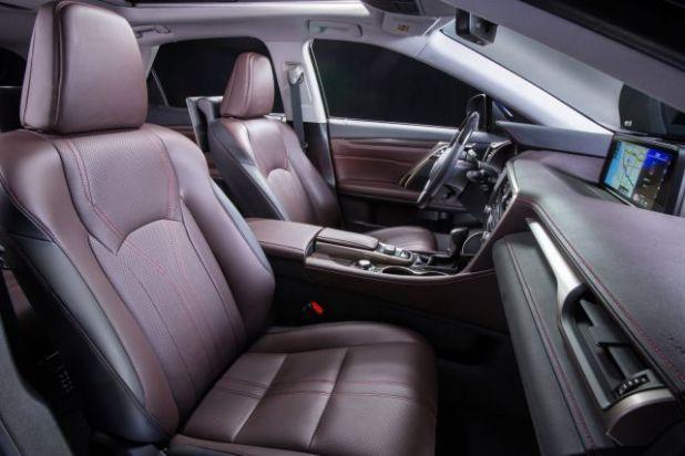 2018 Lexus RX 450h interior