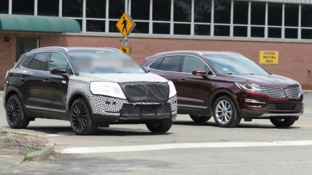 2018 Lincoln MKC Black Label front view