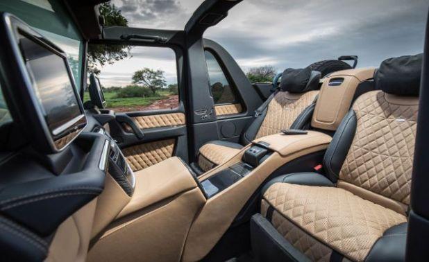 2018 Mercedes-Maybach G650 interior