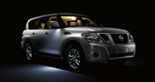 2018 Nissan Patrol front view