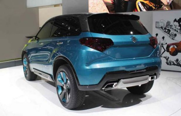 2018 Suzuki Grand Vitara rear
