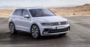 2018 VW Tiguan R Line front