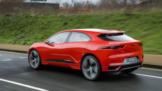 2019 Jaguar I-Pace EV rear view