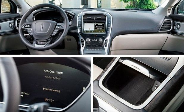 2019 Lincoln Nautilus SUV interior