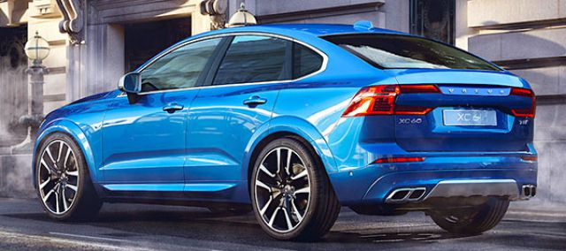 2019 Volvo XC60 rear - 2019 and 2020 New SUV Models